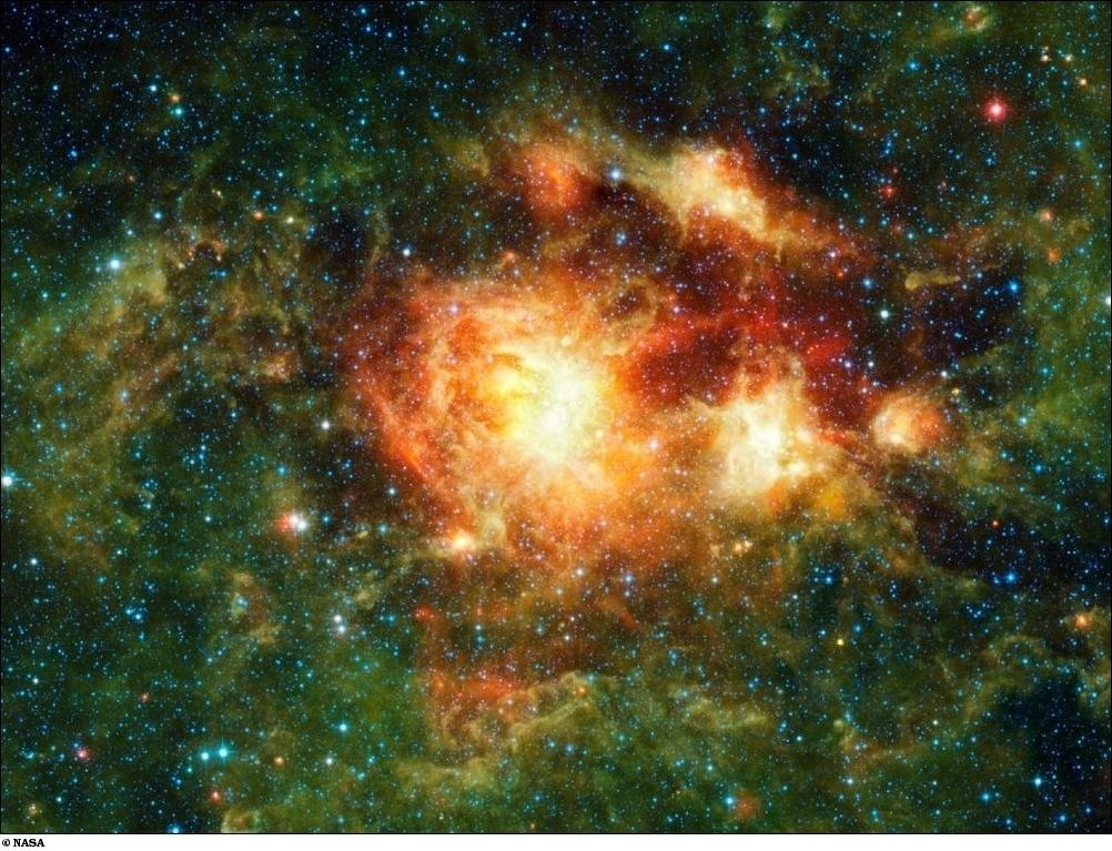 24 Лучшие космические фотографии месяца – август 2010