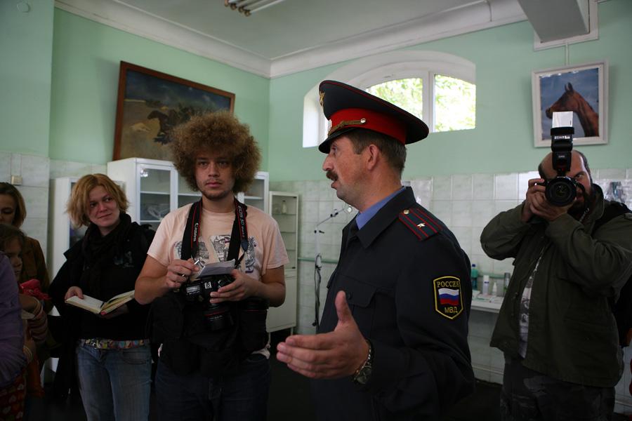 1-й оперативный полк конной милиции Москвы.