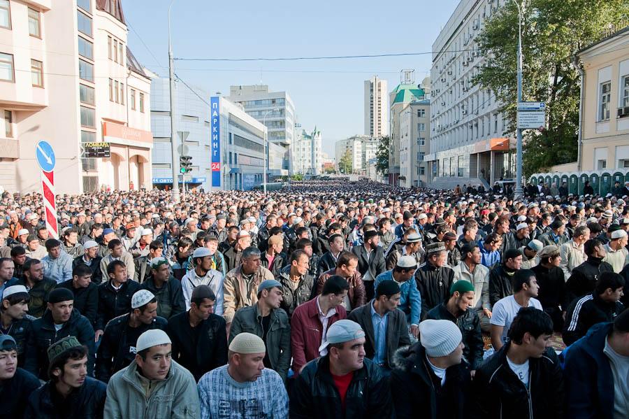 3113 Ураза байрам в Москве