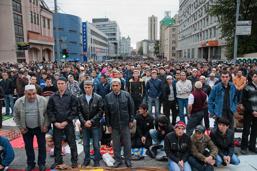 359 Ураза байрам в Москве