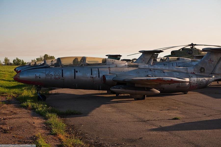 40 Заброшенный аэродром