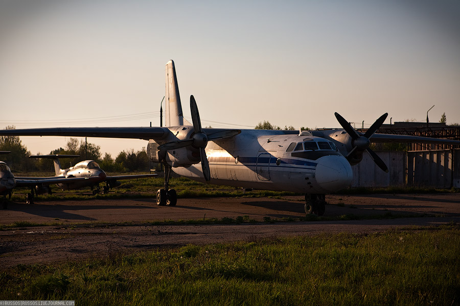 411 Заброшенный аэродром