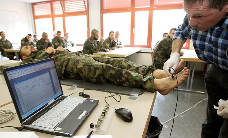 Швейцарская армия тестирует новые носки