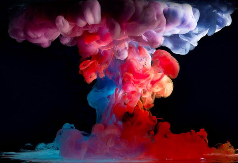 Вода и краска от Марка Моусона