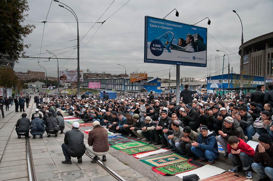 535 Ураза байрам в Москве