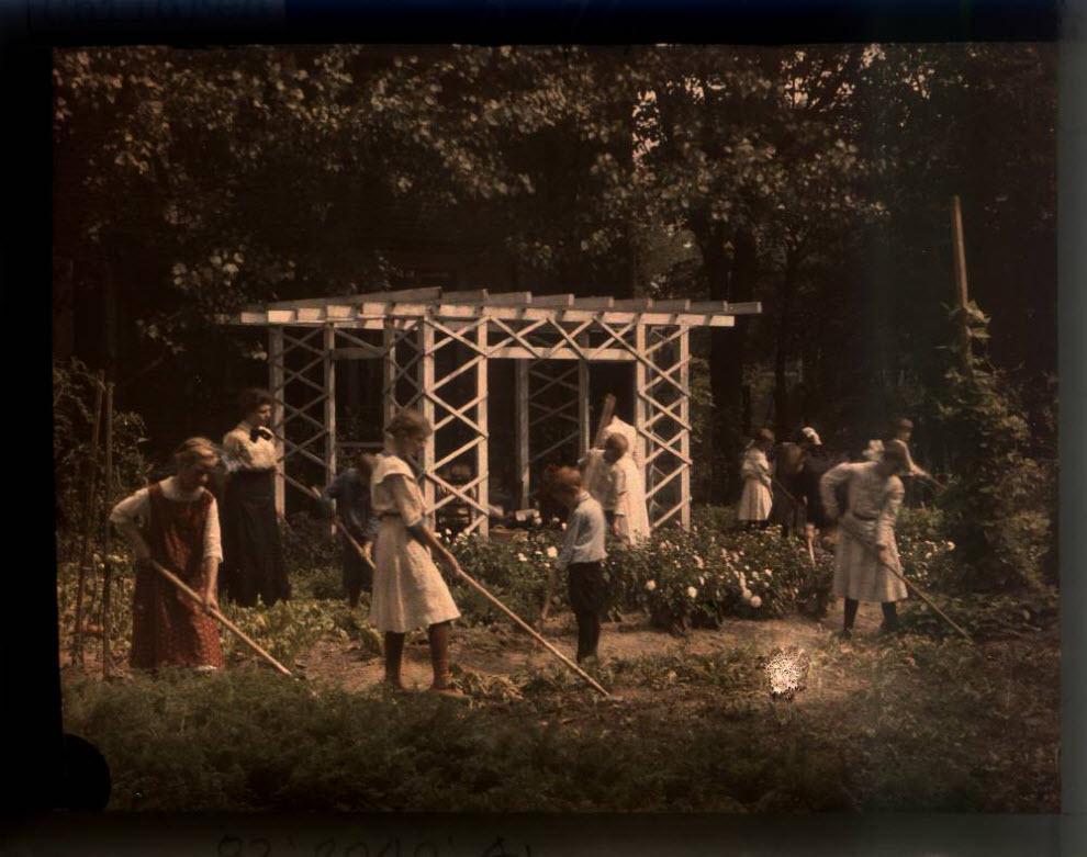 92 Автохром Люмьер   цветные фотографии начала XX века