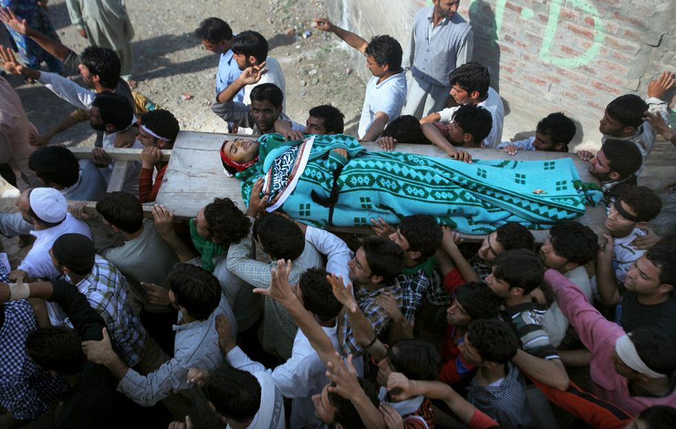 Протесты в Кашмире