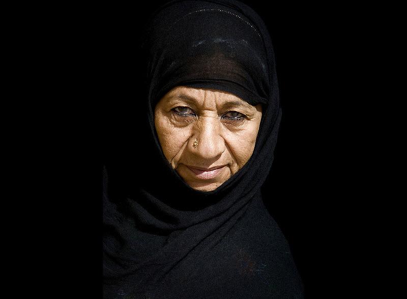 masks01 Традиционные маски у иранских женщин