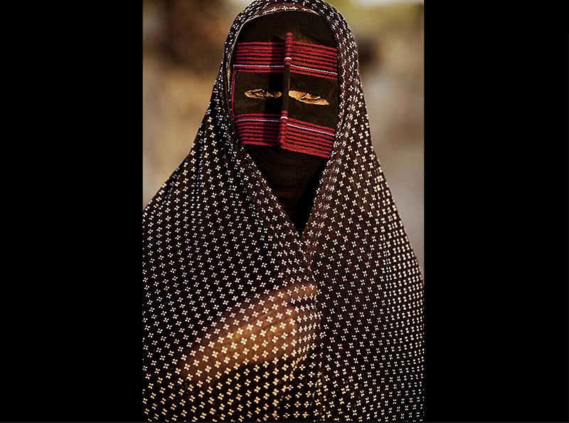 masks03 Традиционные маски у иранских женщин