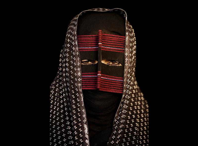 masks04 Традиционные маски у иранских женщин