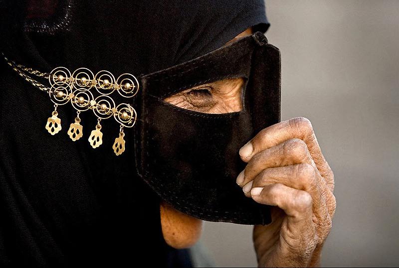 masks11 Традиционные маски у иранских женщин