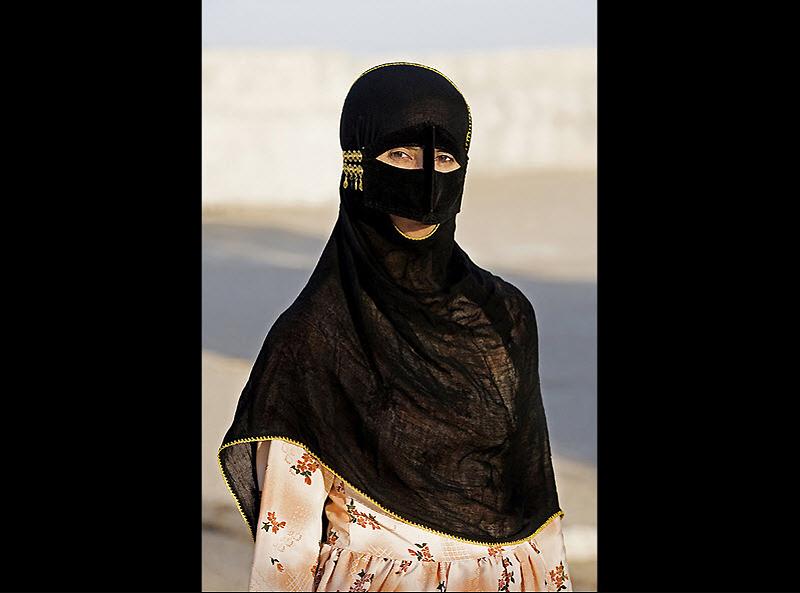 masks13 Традиционные маски у иранских женщин