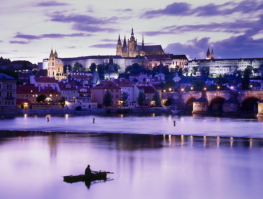 praha hrad Новогодняя Прага