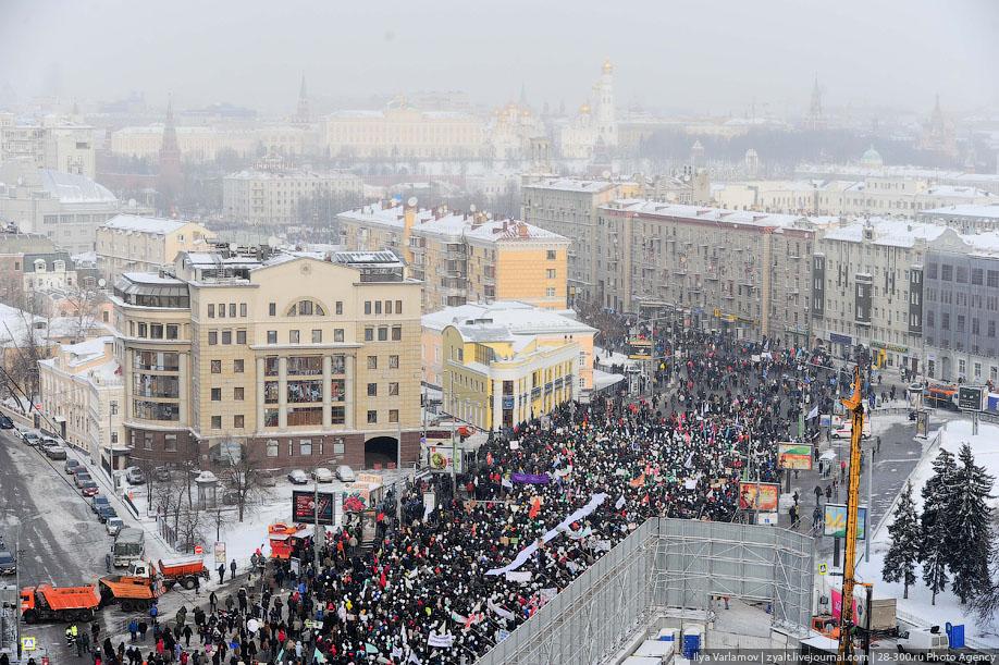 vybory18 Шествие За честные выборы