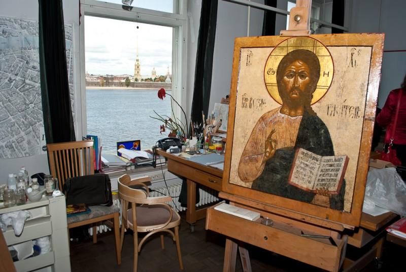 Эрмитаж и Coca-Cola: Лаборатория реставрации темперной живописи