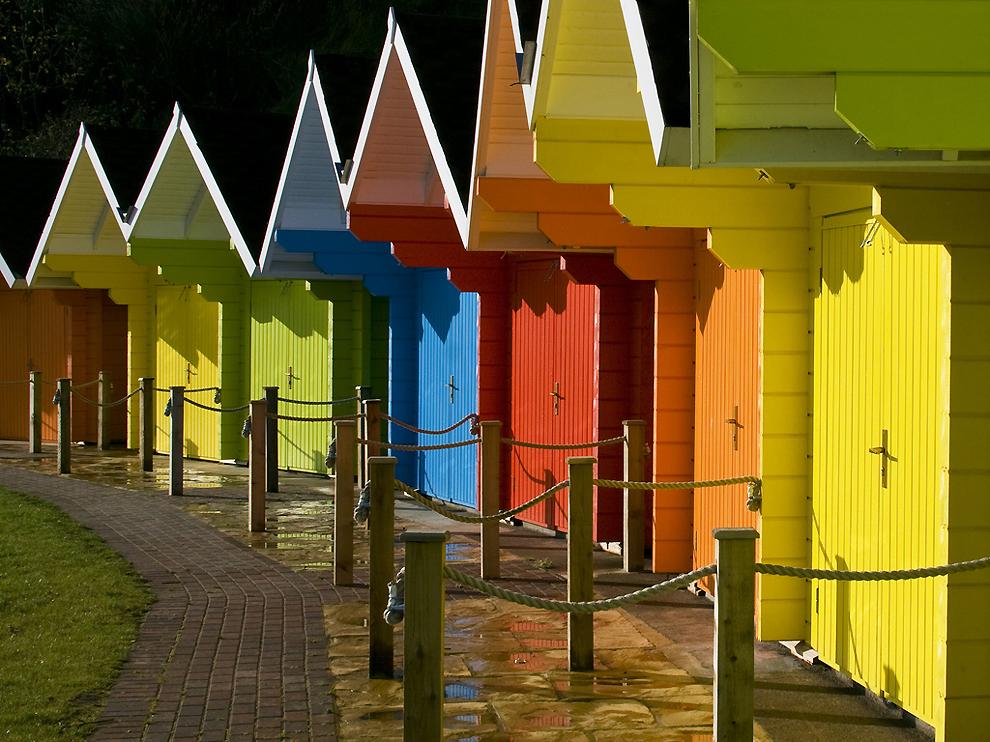 0645 Красочные здания