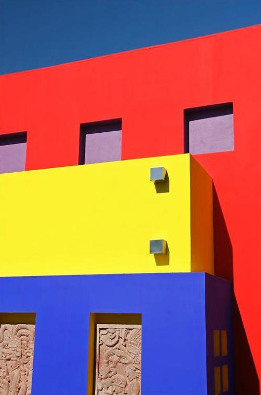 0744 Красочные здания