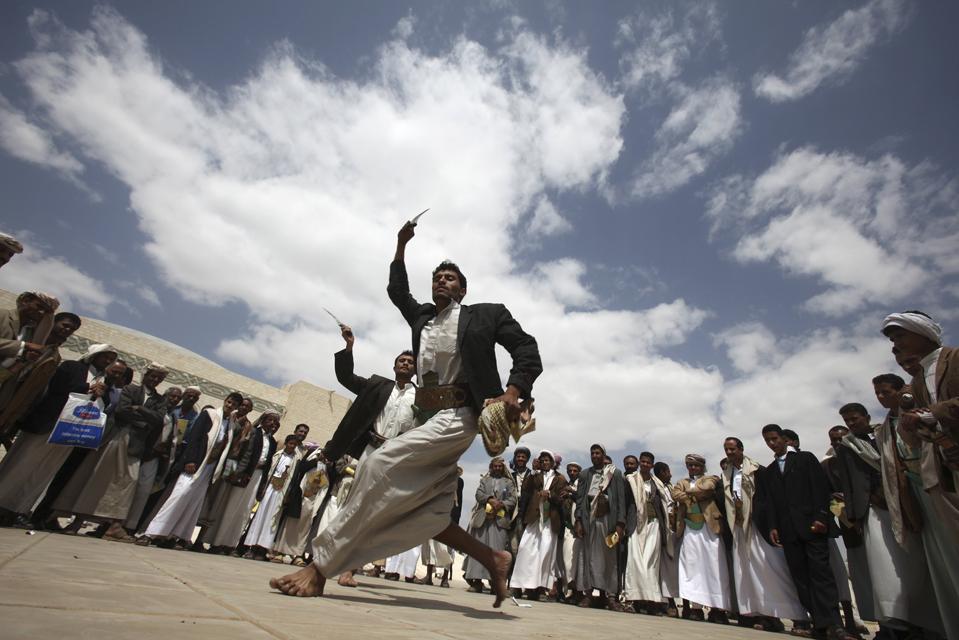 свадьба в йемене фото