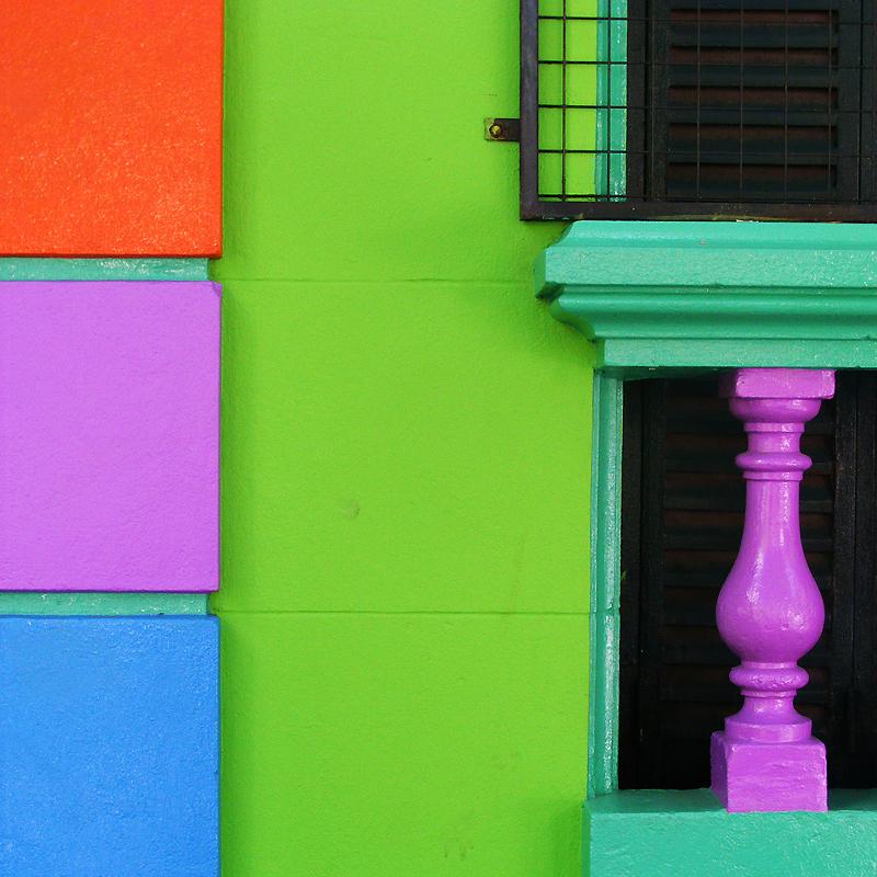 0843 Красочные здания