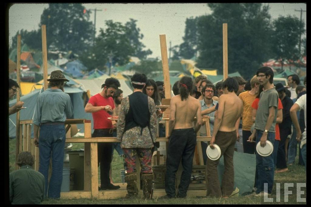 0 41403 Вудсток 1969 года на снимках журнала Life