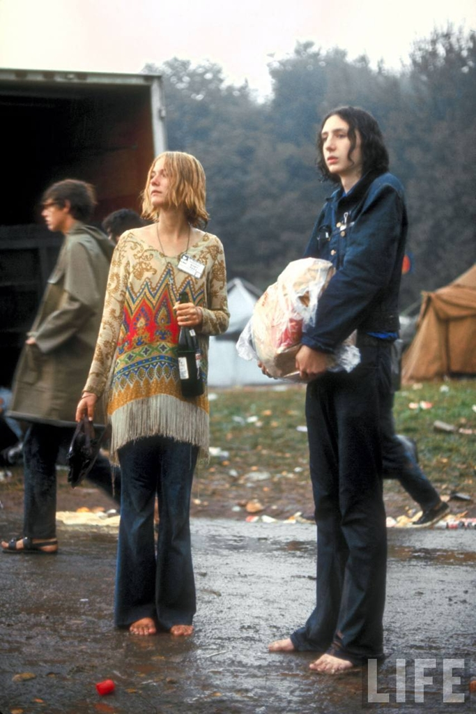 0 41404 Вудсток 1969 года на снимках журнала Life