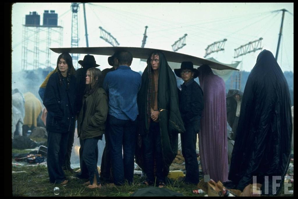 0 41406 Вудсток 1969 года на снимках журнала Life