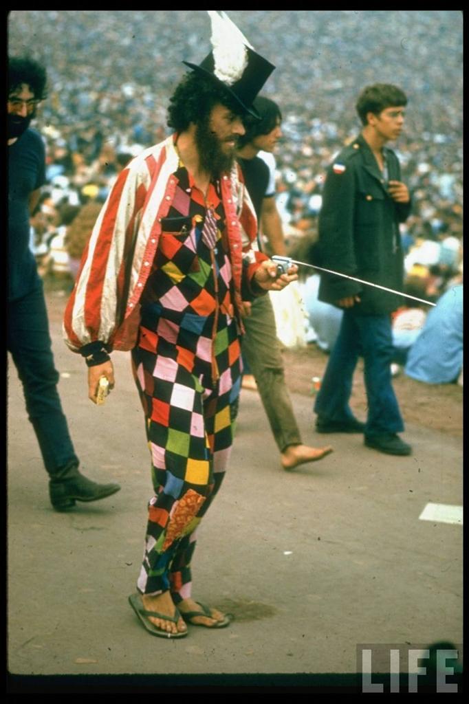 0 41407 Вудсток 1969 года на снимках журнала Life