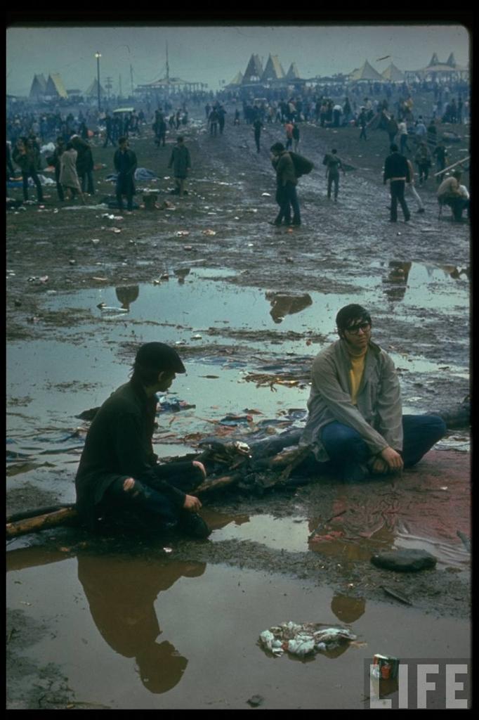 0 41410 Вудсток 1969 года на снимках журнала Life