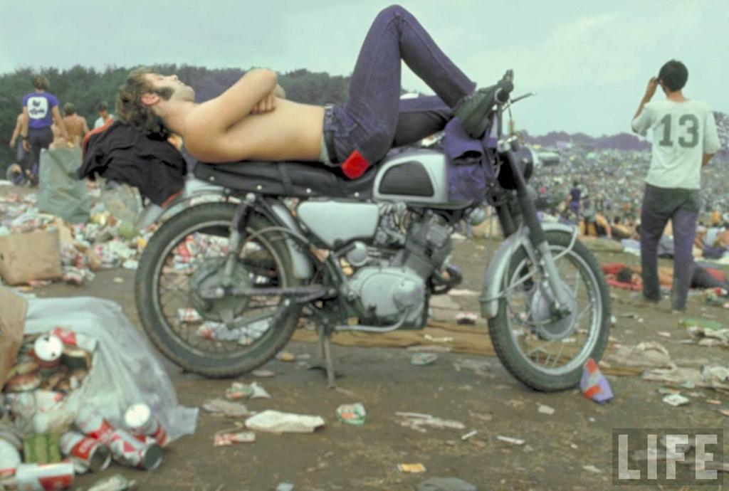 0 41419 Вудсток 1969 года на снимках журнала Life