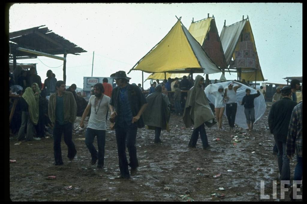 0 4142a Вудсток 1969 года на снимках журнала Life