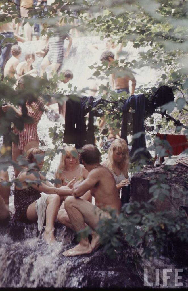 0 41441 Вудсток 1969 года на снимках журнала Life