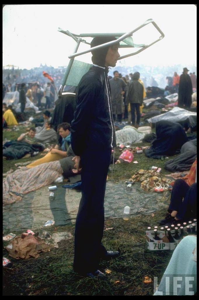 0 41448 Вудсток 1969 года на снимках журнала Life