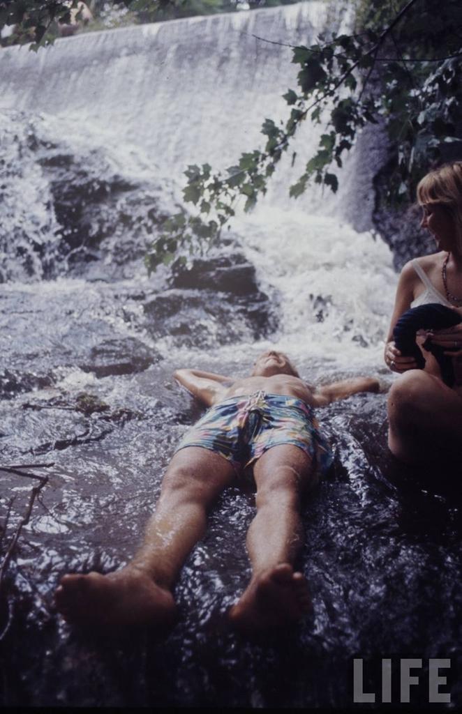 0 41452 Вудсток 1969 года на снимках журнала Life