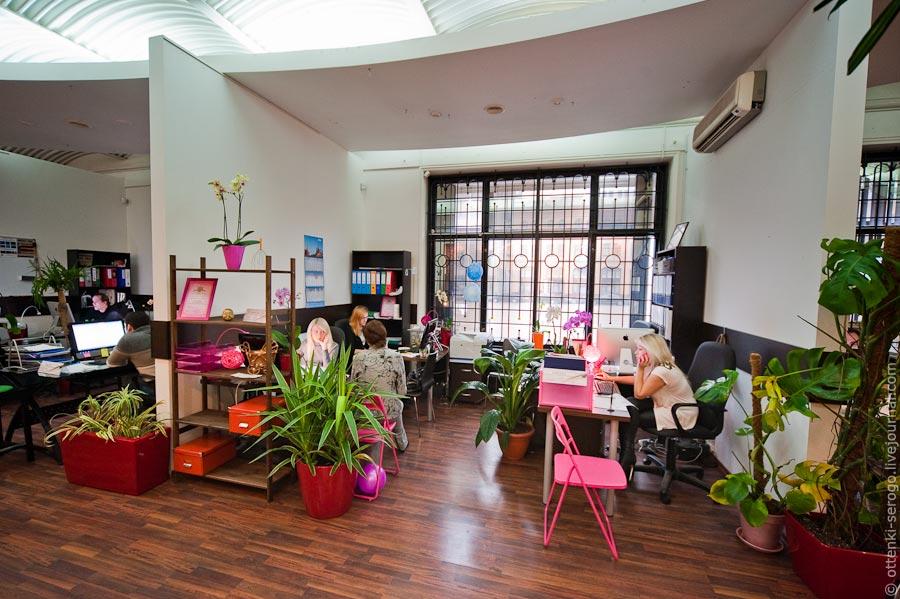 Необычный офис или тандемотерапия