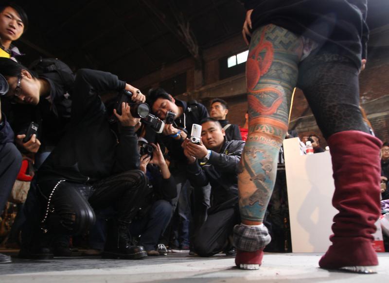 Международный фестиваль тату в пекине