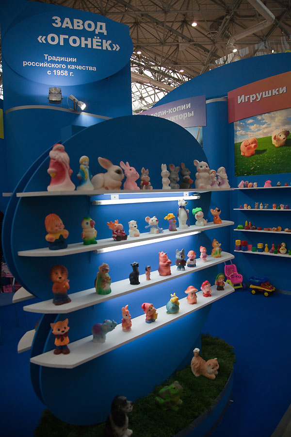 """Игрушки, ах игрушки, или как я был на выставке """"Мир детства"""""""