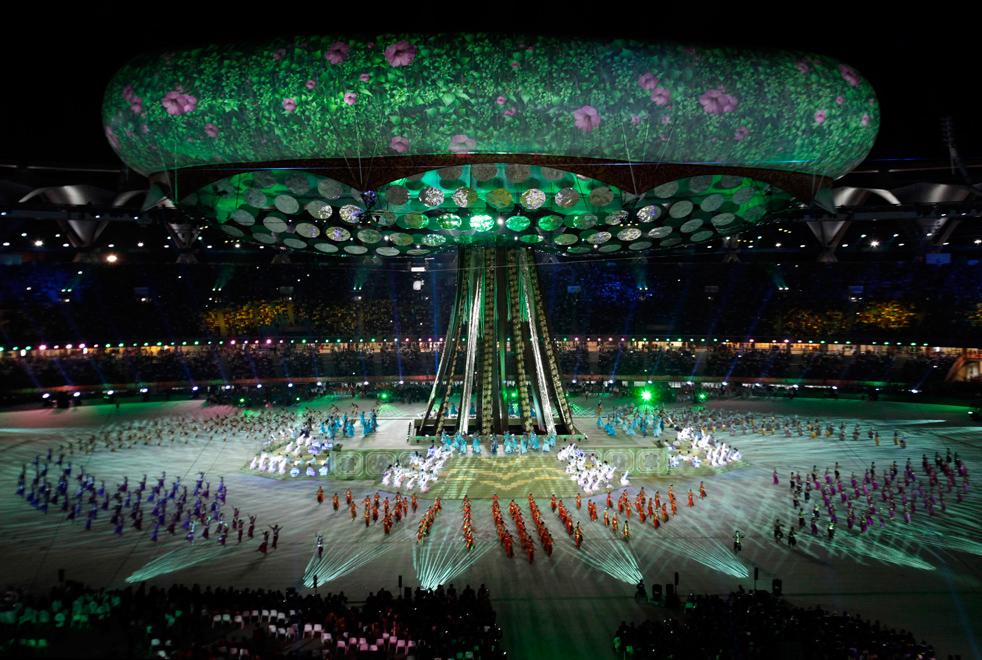 Церемония открытия игр содружества