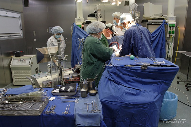 Операция на открытом сердце.