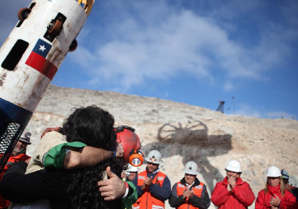 фото спасенных шахтеров минувший понедельник нюша