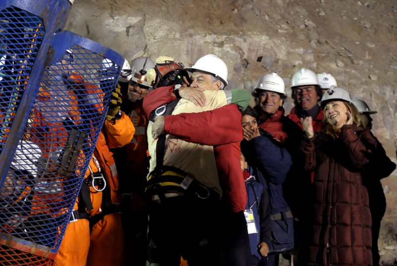 Операция по спасению шахтеров в Чили (Часть 1)