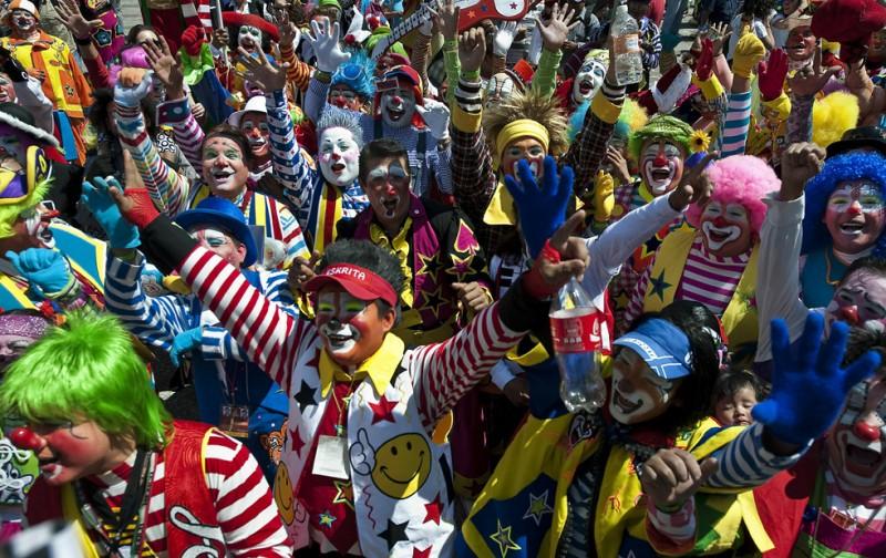 Съезд клоунов