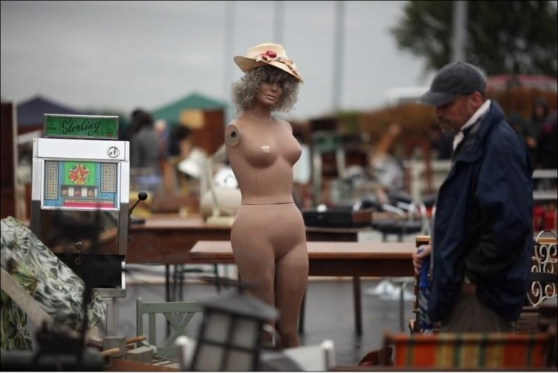 Антикварный рынок в Санбери