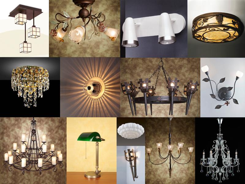 Дизайн виды светильников 122