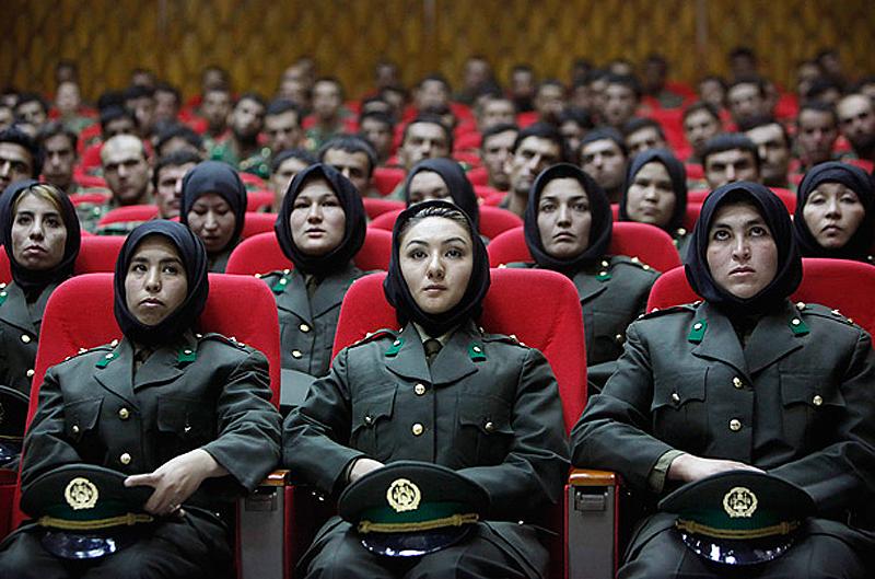 women soldiers 03 Женщины военные