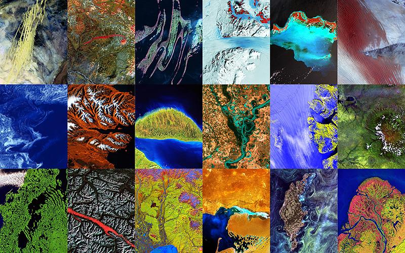 Фотографии Земли из Космосаl