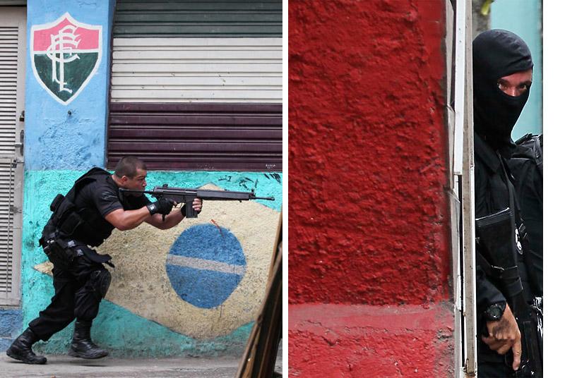 004 Операция по зачистке трущоб Рио от наркоторговцев