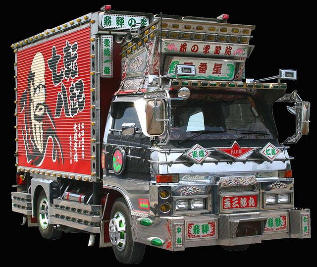 0160 Тюнинг по японски: грузовики Декотора