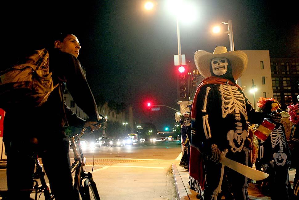 021 День Мертвых в Лос Анджелесе