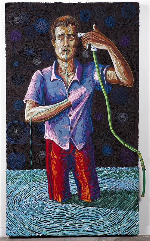 0225 Картины из шнурков