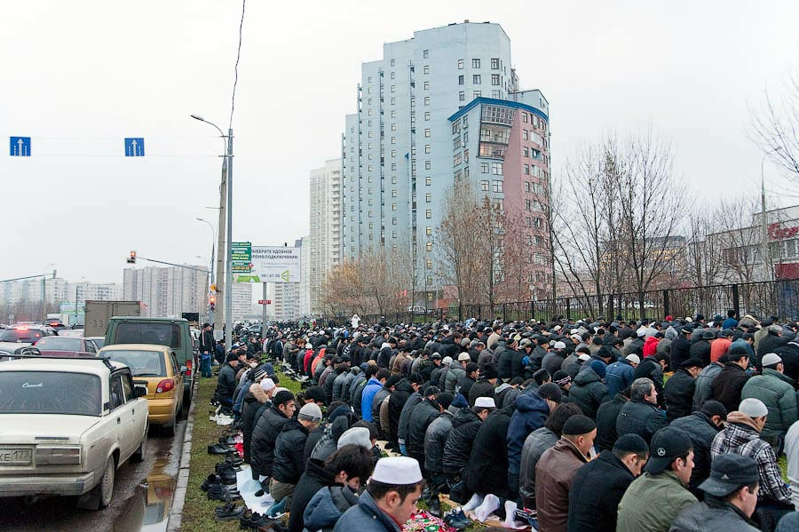 0235 Hari Raya Kurban Idul Adha di Moskow